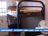 Confinement : La situation compliquée dans les prisons -  Reportage TL7 - TL7, Télévision loire 7