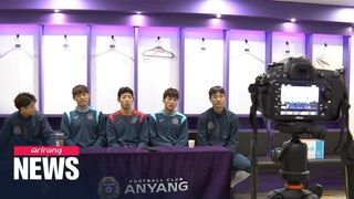 K League football players interact with fans through social media