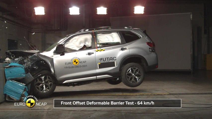 Subaru Forester 2019 EuroNcap