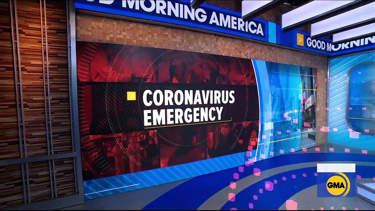 Breaking News Coronavirus death toll climbs in U