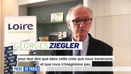 Prise de parole du 25 mars - Intervention de Georges Ziegler, Président du Département de la Loire