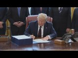 Trump signs -2.2 trillion coronavirus aid bill into law