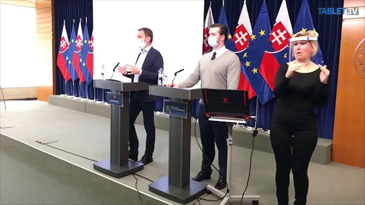ZÁZNAM: TK predsedu vlády SR Igora Matoviča