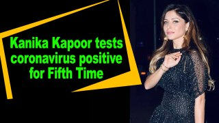Kanika Kapoor tests COVID-19 positive for fifth time