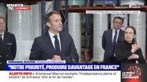 """Emmanuel Macron appelle à l'unité : """"Le temps de la responsabilité viendra, la transparence complète devra être faite"""""""