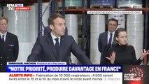 """Emmanuel Macron: """"Quand on vit ce que l'on vit, on ne peut pas demander aux gens de l'avoir prévu il y a dix ans"""""""