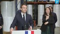 Production de Masques  : Macron veut l'indépendance de la France«avant la fin de l'année »