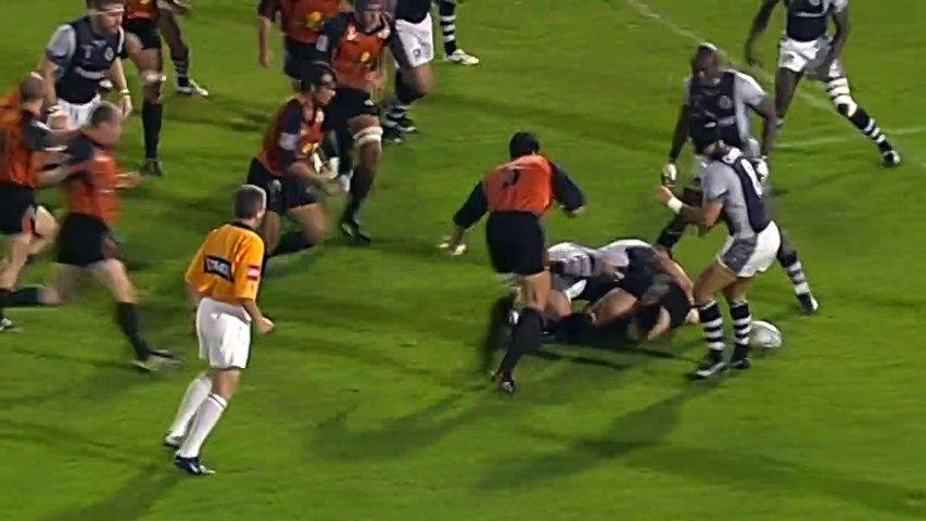 Rugby : Video - 1 jour 2 essais : la vitesse de Julien Laharrague pour relancer depuis son camp