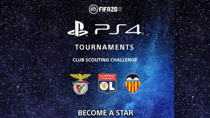 FIFA 20 PS4 club scouting challenge trailer
