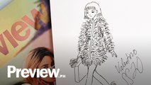 How To Draw A Full Ink Fashion Illustration | Quick Draw | PREVIEW