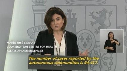 Virus slowdown expected in Spain despite record surge deaths