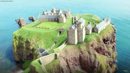 Step back in time and see Dunnottar Castle 300 years ago