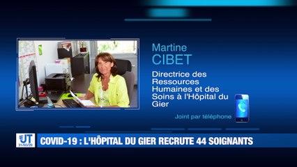 Covid-19 : L'hôpital du Gier a un besoin urgent d'infirmier(e)s et médecins