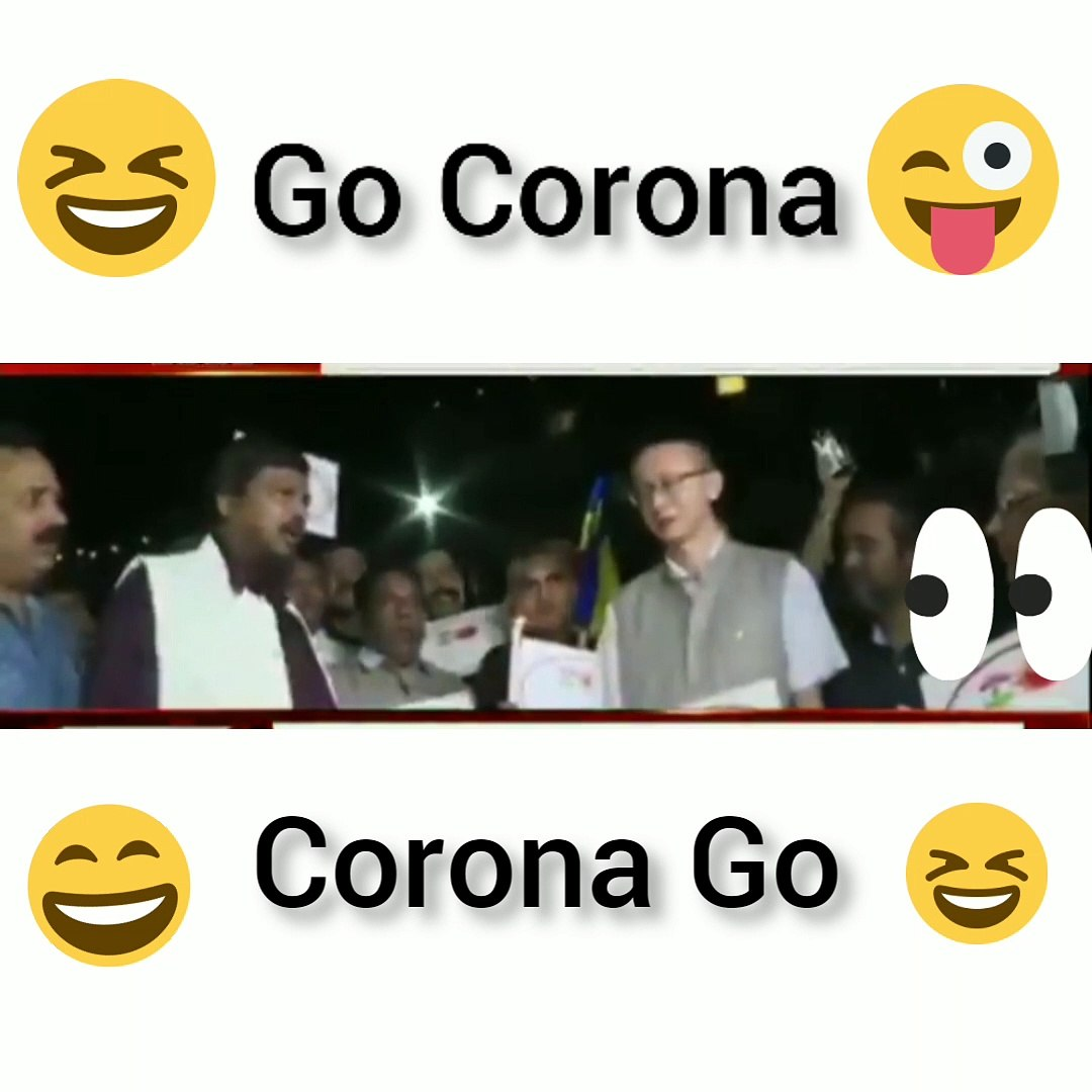Go Corona, Corona Go !!! Indian Politician Ramdas Athawale Chanting Go Corona to keep India Safe fro