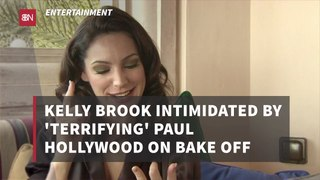 Kelly Brook On Bake Off