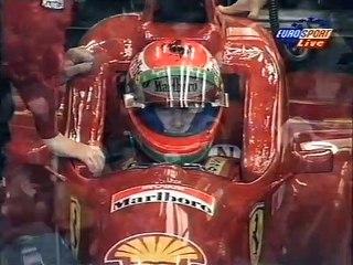 F1 1996 R13 - Belgium - WarmUp EuroSport