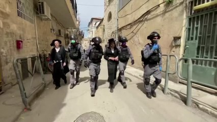 Israeli police step up enforcement among ultra-Orthodox Jews