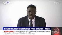 Pape Diouf, l'ancien président de l'Olympique de Marseille, est mort à 68 ans