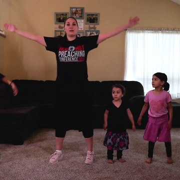 In-Home PE Class for Younger Kids