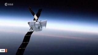 Earth And Moon Photobomb Selfie Of Mercury-Bound Spacecraft