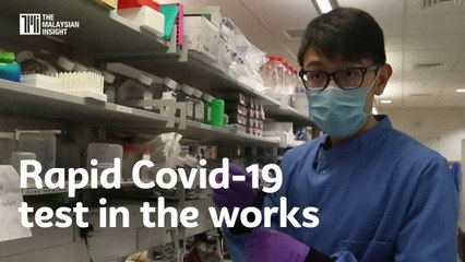 Rapid Covid-19 test in the works
