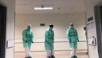 El baile viral de los profesionales sanitarios que luchan contra el coronavirus