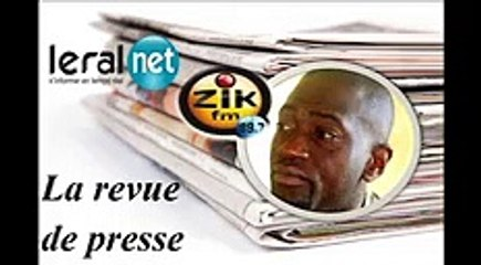 ZikFM - Revue de presse Fabrice Guéma du Mercredi 01 Avril 2020