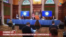 NY Gov. Andrew Cuomo Holds Coronavirus Briefing