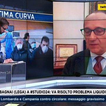 Intervista di Alberto Bagnai a Rai News del 01/04/2020.
