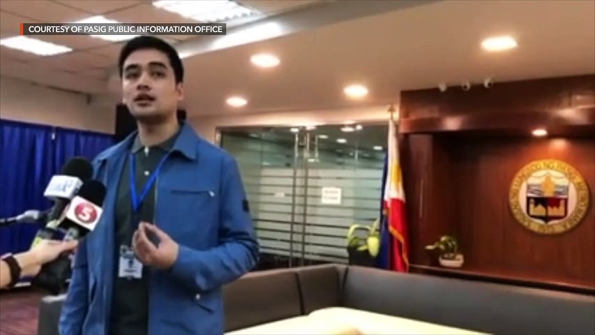 Vico Sotto reacts to NBI summons
