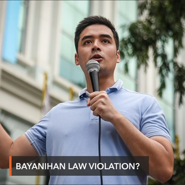 NBI summons Vico Sotto for 'violating' Bayanihan Law