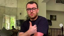 Sam Smith encourages fans to try fitness apps during coronavirus lockdown