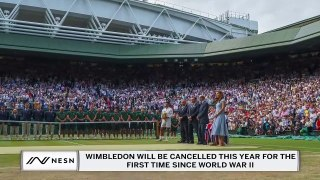 Wimbledon Is Cancelled