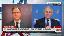 Dr. Anthony Fauci explains why us president donald Trump opted to not quarantine New York