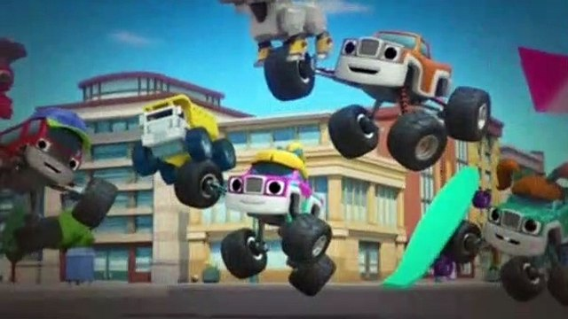 Blaze And The Monster Machines S05E08 Recycling Power!