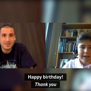 Jose Gimenez surprises young Atletico Madrid fan on his birthday