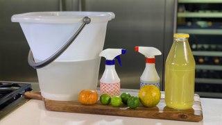 3 limpiadores que puedes hacer en casa con cáscaras de cítricos
