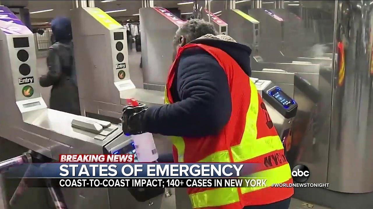 Breaking News New York reels with largest coronavirus outbreak