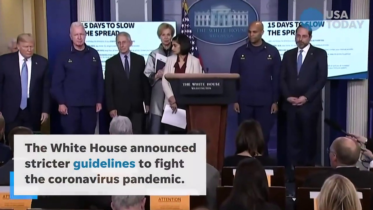 Breaking News President Trump – Coronavirus response 'could last until August'