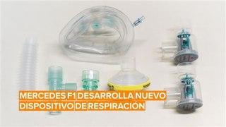 Mercedes desarrolla dispositivos de respiración para pacientes con Covid-19