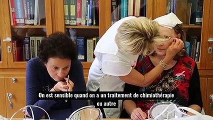 «Cet atelier maquillage, c'est l'une des seules belles choses que l'on vit dans cet hôpital»