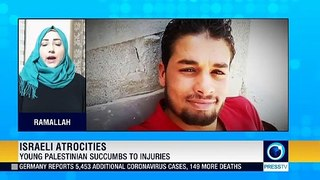 Young Palestinian wounded by Israeli forces dies