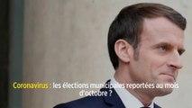 Coronavirus: les élections municipales reportées au mois d'octobre?