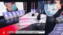 Le monde de Macron : Des masques achetés par la France détournés au pied des avions par les Américains ? - 02/04