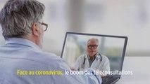 Face au coronavirus, le boom des téléconsultations