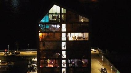 Appartement organiseert isolatie-discofeest