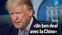 """Coronavirus : Trump pense que la Chine a """"sous-estimé"""" le nombre de ses morts"""