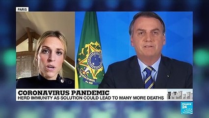 """Coronavirus pandemic: What exactly is the """"herd immunity"""" strategy put in place in Brazil and Sweden?"""