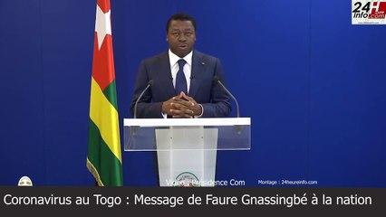 Coronavirus : Faure Gnassingbé décrète l'état d'urgence sanitaire au Togo