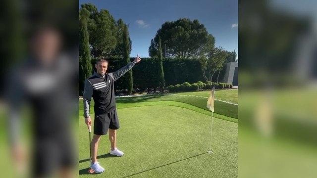 Bale, le golf même à la maison - Foot - WTF